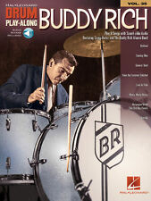 Buddy Rich Drum Play-Along Book Audio Online NEW 000124640
