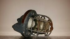 Industrial Factory Cage Pendant Light Lamp A