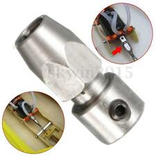 Stainless Flex Collet Coupler for 3.17mm Motor Shaft & 4mm Flex Cable RC Boat