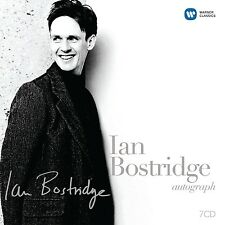 IAN BOSTRIDGE - BOSTRIDGE,IAN-AUTOGRAPH 7 CD NEU BRITTEN/MOZART/SCHUBERT/SCHUM