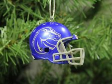 Boise State Broncos Football Helmet Christmas Ornament