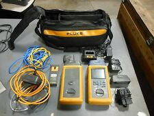 Fluke DSP-4000 Cable Analyzer & DSP 4000SR Smart Remote W/accessories
