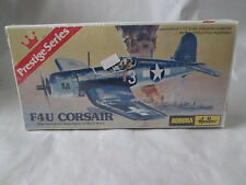 1977 Aurora Model Kit FU4 Corsair Navel Fighter Airplane 1/72 Scl #6601 France