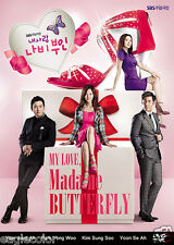 My Love, Madame Butterfly Korean Drama (10DVDs) Excellent English & Quality!