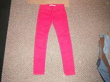 """TRF Premium laver jeans ZARA taille 28 """"Jambe 31"""" Rouge délavé dames jeans"""