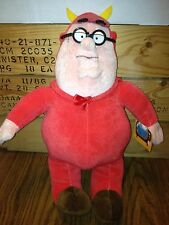 FAMILY GUY, PETER GRIFFIN 11'' PLUSH. IN DEVIL COSTUME.