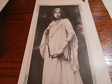 Vtg Antique 1900's Marie Lohr & Lillian Russell Theatre Star Book Plate Photo
