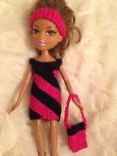 Bratz, Tree Changing, Moxi Dolls Clothes Knitted (no Doll Just Clothes) D Pink B