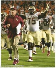 JEFF FISHER & CAMERON ERVING - FLORIDA STATE ST FSU - 8x10 COLOR UNSIGNED PHOTO