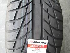 2 New 255/45R17 Inch Nankang NS-1 Tires 255 45 17 R17 2554517  45R