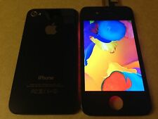 Iphone 4s Black original display LCD Screen digitizer,Back Cover And Home Button