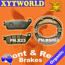 FRONT REAR Brake Pads Shoes for Honda CB 250 Two Fifty 1992-2005