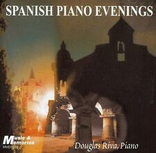 SPANISH PIANO EVENINGS - DOUGLAS RIVA MINT SEALED   CD - FREE POST IN UK