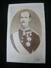 PHOTO CDV ANCIENNE MOSAIQUE GEORGE 1 OF GREECE ROI GRECE 1863  ΒΑΣΙΛΕΊΑ ΕΛΛΆΔΑ