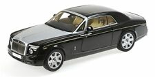KYOSHO Rolls Royce Phantom Coupe Diamond Black/Silver Hood 1:18**New Item!