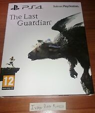 The Last Guardian PS4 PAL España Steelbook Edition Limited Like New English
