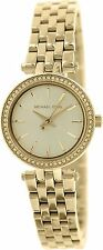 Michael Kors Women's MK3295 'Mini Darci' Crystal Gold-Tone Stainless steel Watch