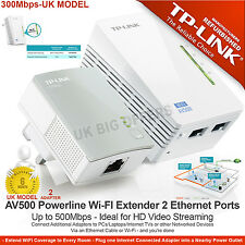 TP-LINK TL-WPA4220KIT AV500 Powerline 300M WI-FI EXTENDER due porti casa Spina