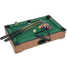 Trademark Games Mini Table Top Pool Table and Accessories 20 x 12 x 3.5 Inches