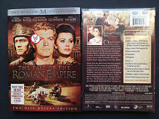 Sophia Loren FALL OF THE ROMAN EMPIRE Special Ed 2xDVDs 1964 R1 James Mason US