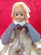 """VINTAGE HARD PLASTIC 8"""" INTERNATIONAL DOLL SLEEPY EYES Nurse Doll Nun Doll"""