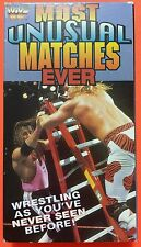 WWF/WWE Most Unusual Matches Ever VHS WCW/nWo NXT HBK GoodTimes Home Video
