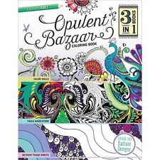 C&T Publishing Opulent Bazaar Coloring Book - 532141