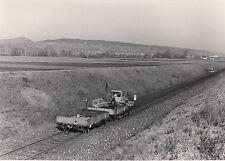 ORIG. FOTO DB SKL KRAFTWAGEN MIT ANHÄNGER BEI ROTTENBURG NECKAR 1975 (AF31)