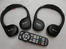 "DODGE JOURNEY / CARAVAN ""U CONNECT"" -  DVD Headphones OEM KIT w/ REMOTE CONTROL"