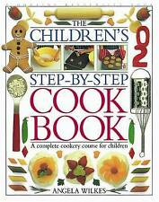 Children's Step-by-Step Cookbook,ACCEPTABLE Book