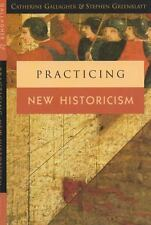 Practicing New Historicism by Gallagher, Catherine; Greenblatt, Stephen