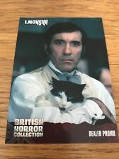British Horror Collection Exclusive Dealer Promo Card TTP1 Unstoppable Cards