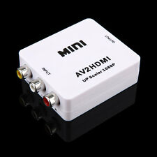 VGA to HDMI 1080P Adapter Video Converter Scaler box PC to HD TV Projection