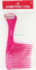 "ANNIE JUMBO RAKE COMB #23 8.5"" LONG 4"" WIDE PLASTIC RAKE COMB ASSORTED COLOR"