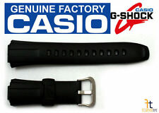 CASIO G-Shock GW-300 Original 16mm Black Rubber Watch BAND Strap GW-301 GW-330