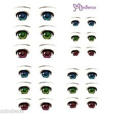 Obitsu 27cm Body 1/6 bjd Dollfie Doll Eye Decal Sticker 01 (with instruction)