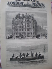 National Liberal Club Charing Cross London & natives York Island New Guinea 1883