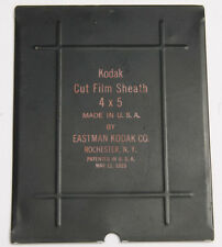 "4x5"" Kodak Cut Film Sheath Adapter for Glass Plate Holder - USED D62C"