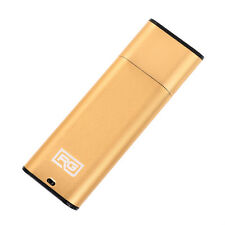 RecorderGear FD10 USB Drive Voice Recorder Small Spy Recording, Gold Option