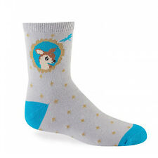 Sock It To Me Junior Crew Socks - Fawn In Frame - Age: 7-10