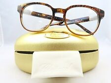 Chopard VCH 144 0961 Havana 23KT Gold Plated New Authentic Eyeglasses 51/19/145