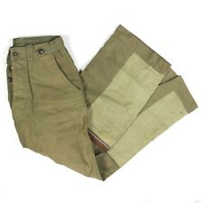 SCARCE USAAF ARMY AIR FORCES M1943 COTTON FIELD TROUSERS W/ FLIGHT MODIFICATIONS