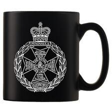 Royal Green Jackets, RGJ, Personalised Black Satin Mug