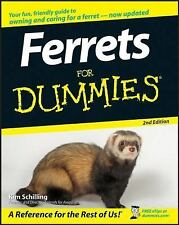 Ferrets for Dummies (2nd Edition) : New Softcover  @