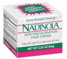 Nadinola Extra Strength Formula Skin Discolouration Fade Cream Dark Spots 2.25oz