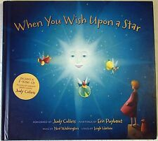 BOOK Childrens When You Wish Upon a Star book & music CD by Judy Collins VGC