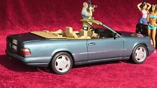 Mercedes 300 CE Cabrio 1:18  E 200 - E 320 weltweit einmaliges Modell top Umbau!