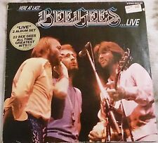 Schallplatte / Bee Gees - Here At Last ... Bee Gees ... Live / super / Vinyl LP