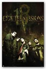 MUSIC POSTER Eighteen Visions 18V 18 Visions