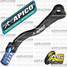 Apico Black Blue Gear Pedal Lever Shifter For KTM EXC 300 2009 Motocross Enduro
